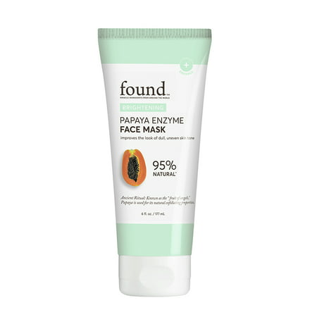 Papaya Enzyme Peel (FOUND BRIGHTENING Papaya Enzyme Face Mask, 6 fl oz)