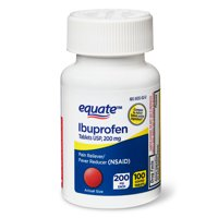 Equate Ibuprofen Coated Tablets, 200mg, 100-Count