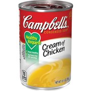 (4 pack) Campbell'sCondensedHealthy RequestCream of Chicken Soup, 10.5 oz. Can