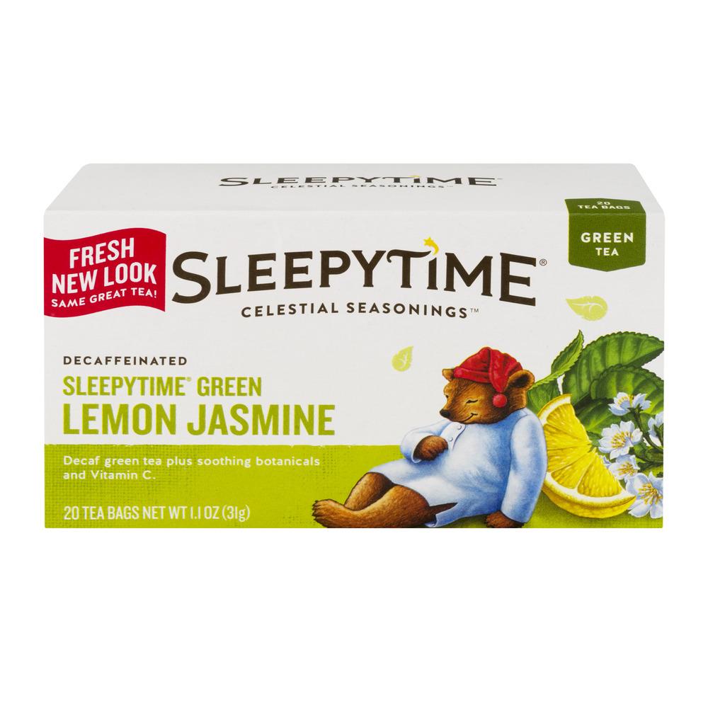 Celestial Tea Sleepytime Green Lemon Jasmine - 20 CT