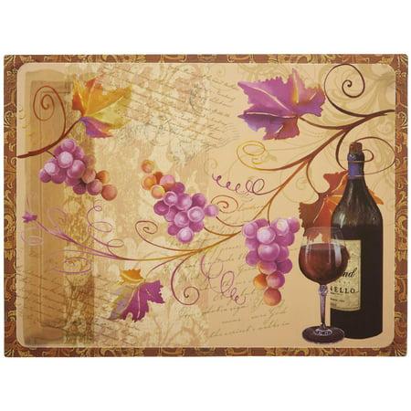 Ganz Flexible Cutting Mat  Wine Tasting Cutting Board