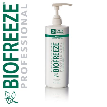 - Biofreeze Professional 32oz Pump Green Gel