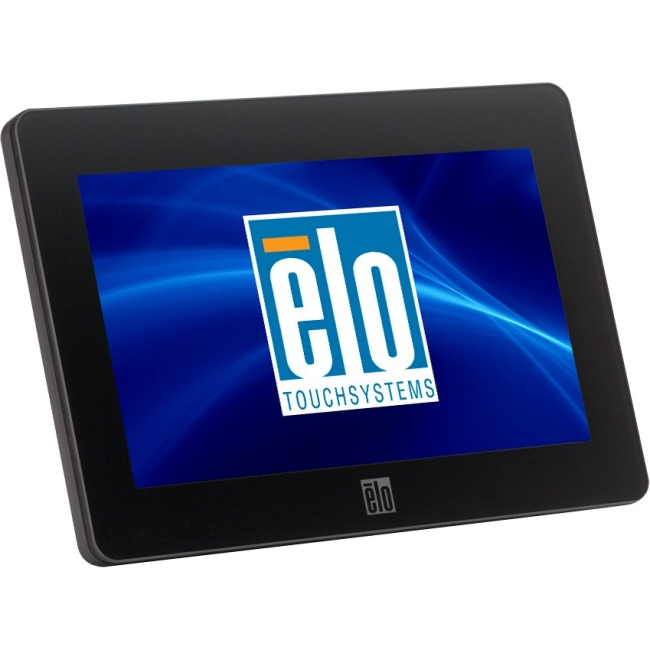 """Elo 0700L 7"""" LCD Touchscreen Monitor - 16:9 - 25 ms - 5-wire Resistive - 800 x 480 - 16.7 Million Colors - 500:1 - 200 Nit - USB - Black - WEEE, RoHS - 3 Year"""