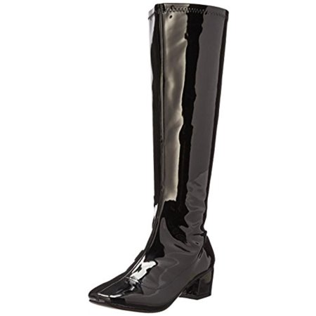 Womens Dodda Patent Retro Knee-High Boots](Retro Boots)
