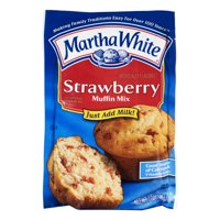 Martha White Strawberry Muffin Mix, 7.0 OZ