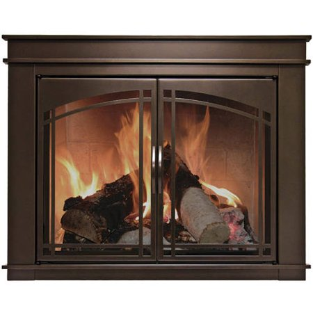 hearth firescreen easton group product fireplace pleasant glass details ea black em inc ghp
