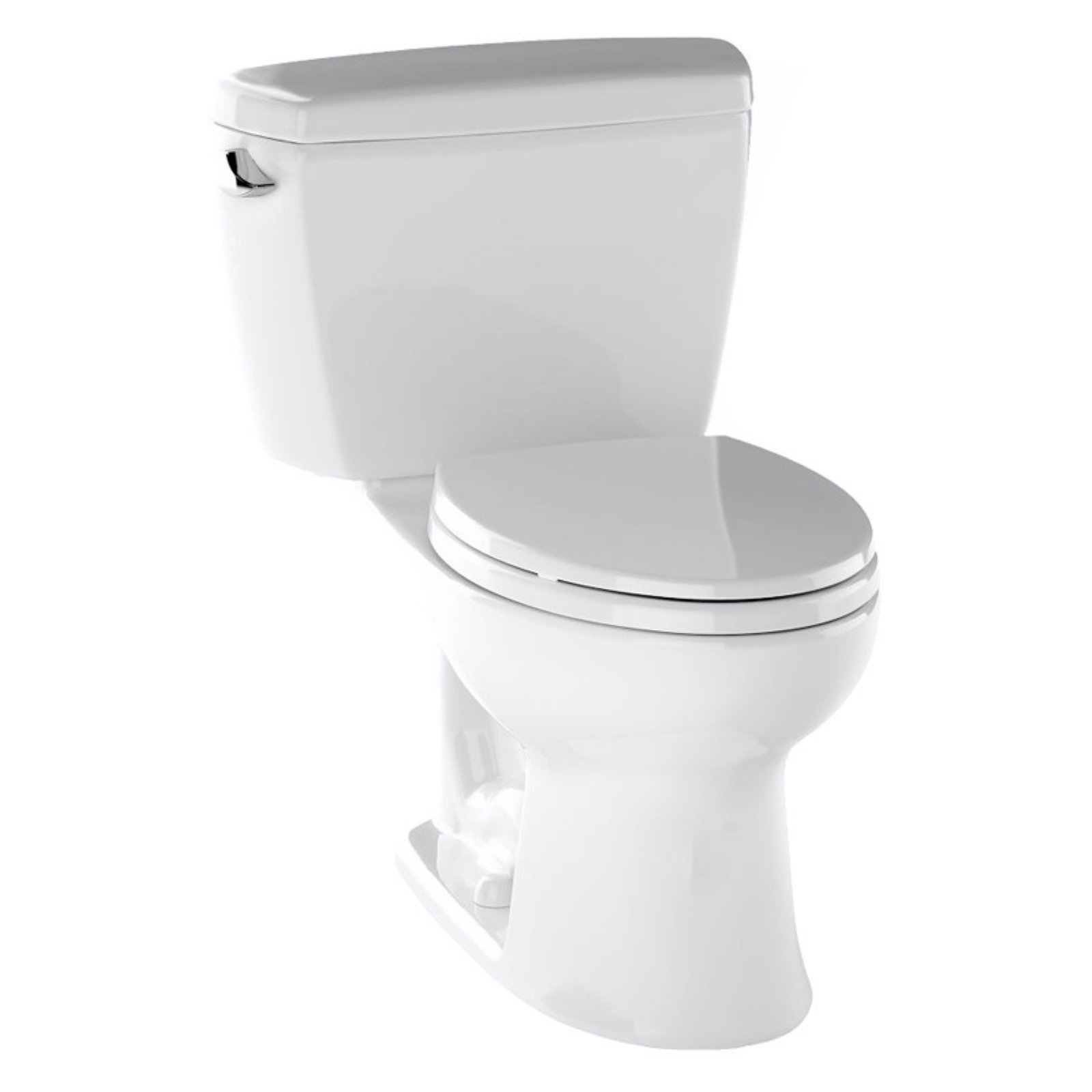 Toto Eco Drake Two Piece Toilet GPF 1.28 Elongated with E-Max Flush ...