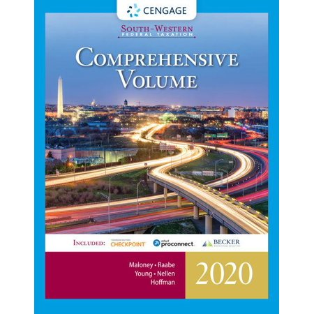South-Western Federal Taxation 2020 : Comprehensive (with Intuit Proconnect Tax Online & RIA Checkpoint, 1 Term (6 Months) Printed Access (Cch Federal Taxation Comprehensive Topics 2016 Solution Manual)