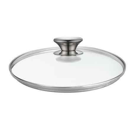 Cook N Home 02593 Tempered Glass Lid, 11-inch/28cm, Clear
