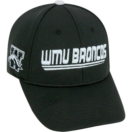 University Of Western Michigan Broncos Black Baseball Cap