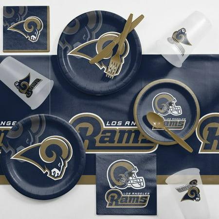 sale retailer 33e14 46e45 Los Angeles Rams Game Day Party Supplies Kit