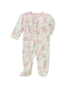 bca84e72b Baby Girls One-piece Pajamas - Walmart.com