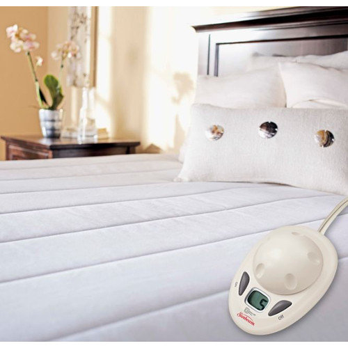 Sunbeam MA7017-030-000 Imperial Comfort Heated Mattress Pad - Twin XL