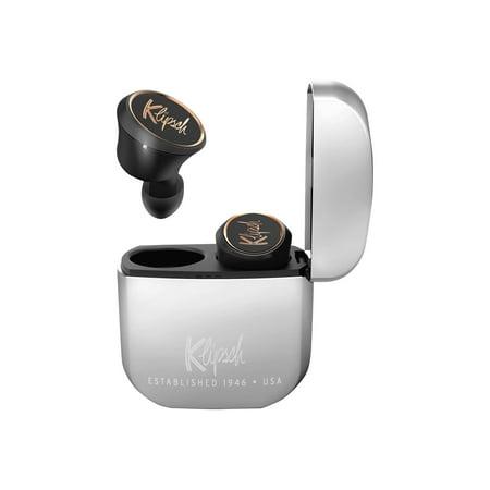 Klipsch T5 True Wireless - True wireless earphones with mic - in-ear - Bluetooth - noise isolating - black