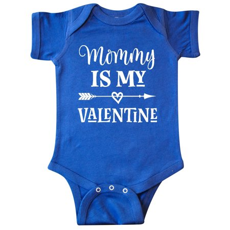 Mommy Is My Valentine Boys Infant Creeper](Mommys Boy)