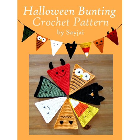 Halloween Bunting Crochet Pattern - eBook](Halloween Pattern)