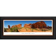 Blakeway Worldwide Panoramas, Inc National Park Arches National Park #3 - Double Arch by James Blakeway Framed Photographic Print