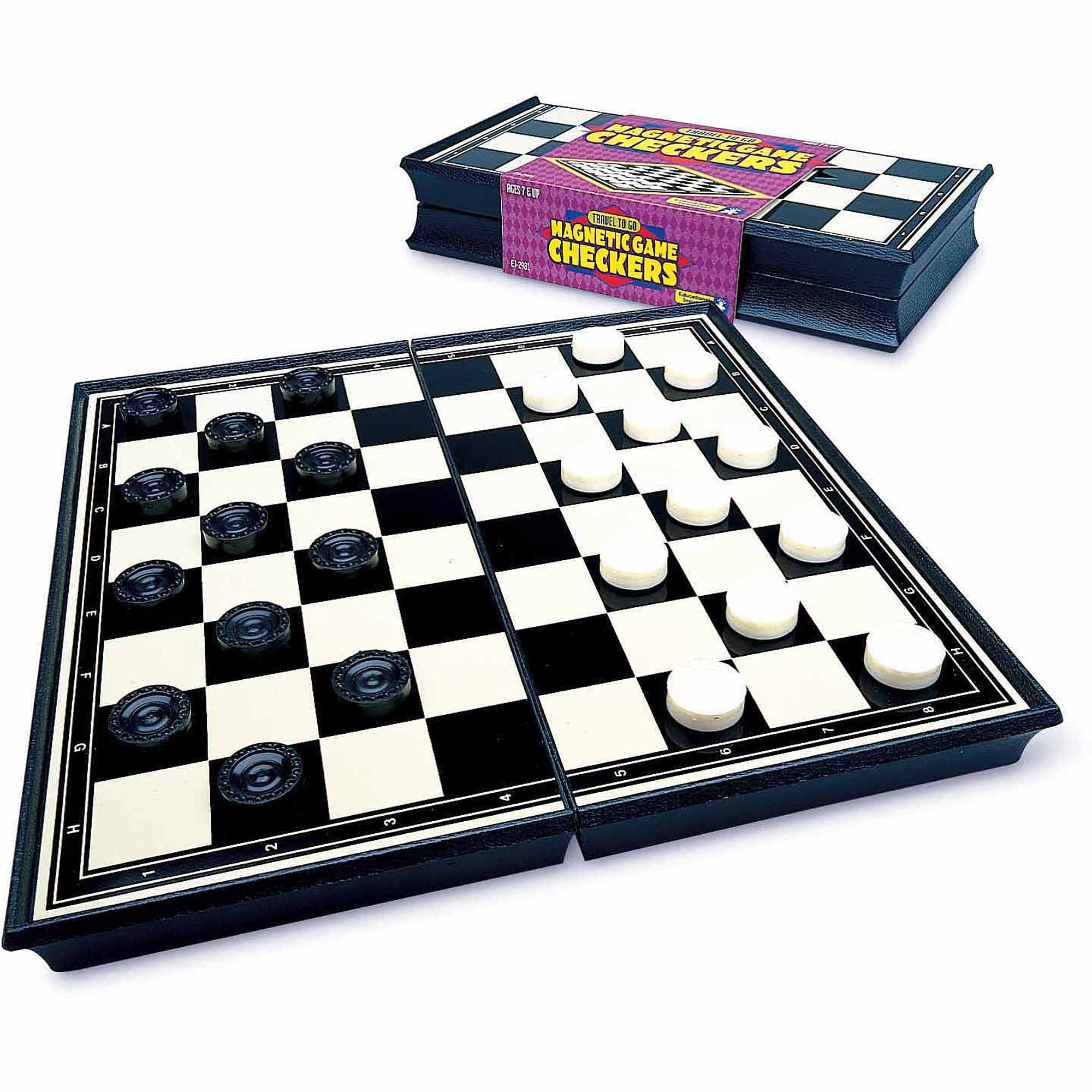 Educational Insights 2981 Magnetic Checkers