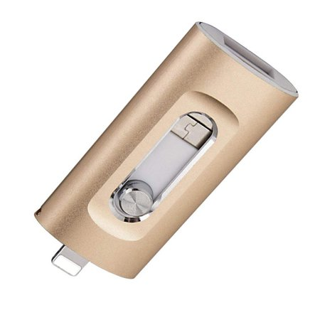 3 In 1 Usb Flash Drive 16Gb 32Gb 64Gb 128Gb Pen Drive For Cellphone X/8/7/6 Plus - image 6 of 8