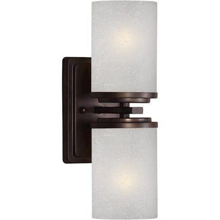 Forte Lighting 2424-02 4.5Wx13Hx5.5E Indoor Up Lighting Wall Sconce - Forte Wall Lighting