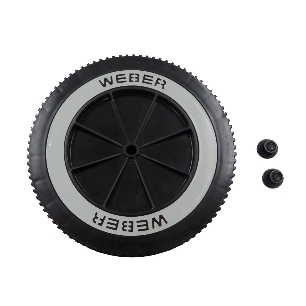 "Weber Grill Part # 63050 8"" Wheel and Cap - Gas and Charcoal Kettle Grills"
