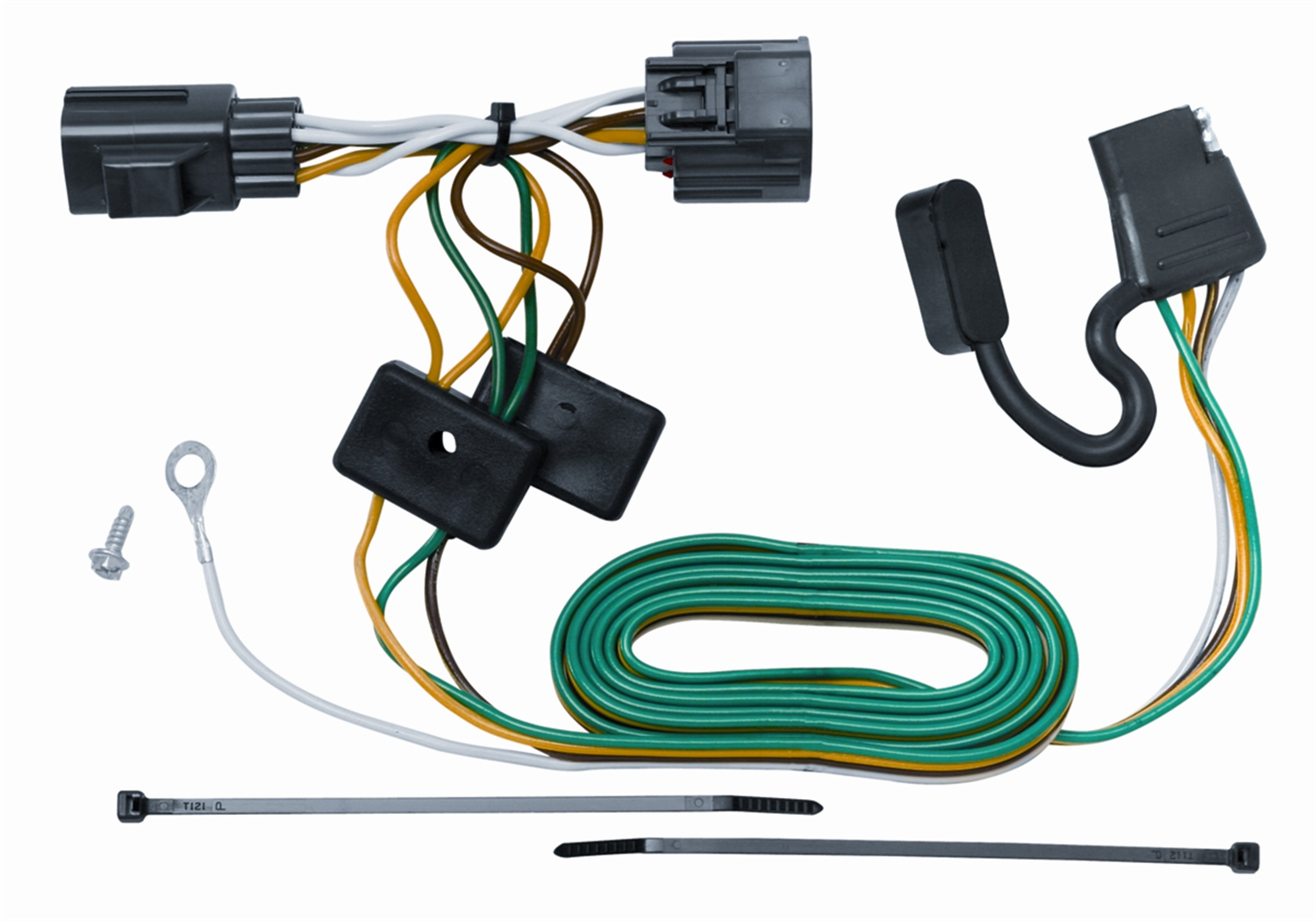 Jeep Wrangler Trailer Wiring Manual Of Diagram 2013 Hitch Vehicle To Harness Connector For 07 12 Rh Walmart Com