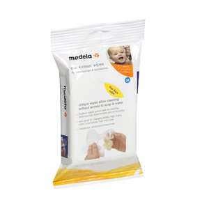 Medela Quick Clean Breast Pump and Accessories Wipes - 24 count