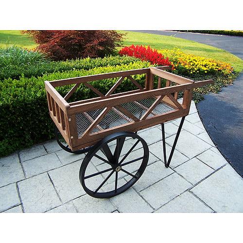Flower Garden Wagon