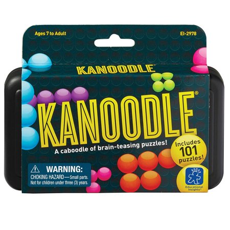 Kanoodle, Challenge your noggin with this best-selling, brain-twisting, solo (Best Place To Sell Toys)