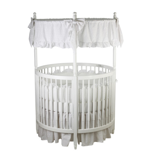 Dream On Me Sophia Posh Standard Crib White