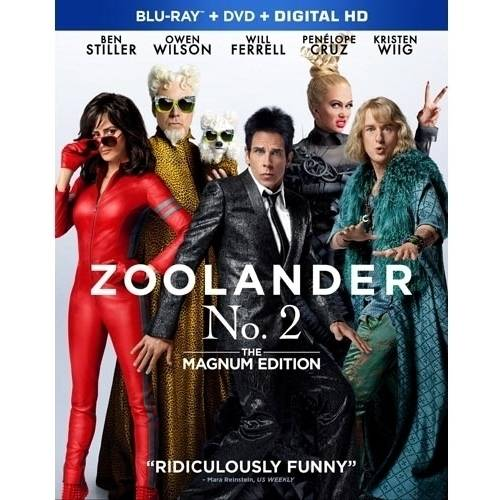 Zoolander 2: The Magnum Edition (Blu-ray   DVD) (Walmart Exclusive) (With INSTAWATCH))