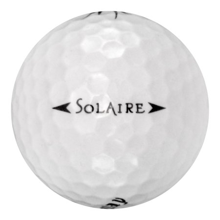 Callaway Solaire Golf Balls, Used, Mint Quality, 12 Pack (Callaway Solaire Golf Balls)
