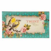 Christian Art Gifts 367029 Cookie Plate - Trust