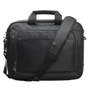 "Dell Professional Carrying Case [messenger] For 15.6"" Notebook, Tablet, Accessories, Document, Smartphone, Key, Pen, Charger - Black - Scratch Resistant Interior, Water Resistant Exterior - (wg1v8)"