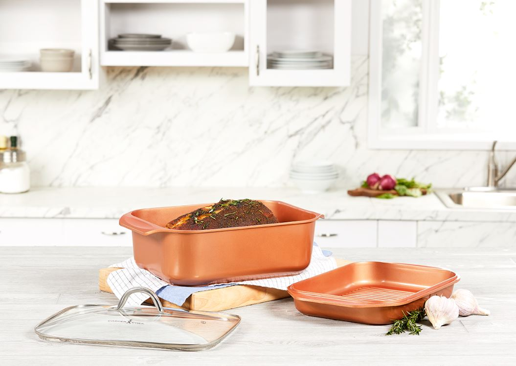 Copper Chef Wonder Cooker Cookware Set, 3 Piece