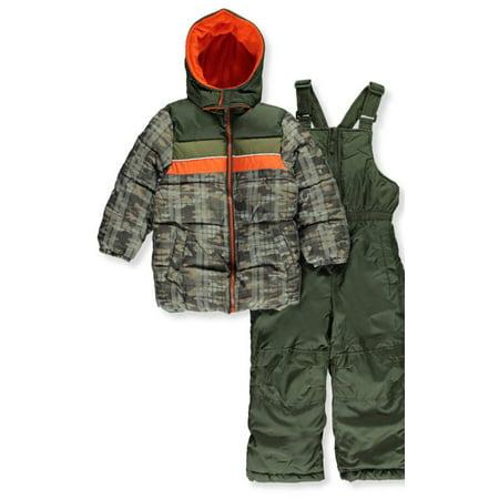 6694c209961c iXtreme - Little Boys  2-Piece Insulated Snowsuit (Sizes 4 - 7 ...