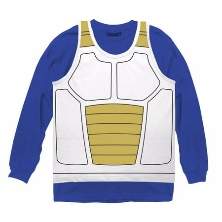 Vegeta Saiyan Armor Costume Officially Licensed Cosplay Shirt