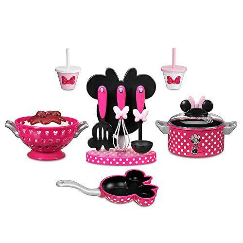 Disney Minnie Mouse Cooking Play Set Walmart Com Walmart Com