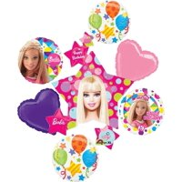 Barbie Sparkle Jumbo Cluster Balloon Birthday Party Supplies Balloon Bouquet Decorations