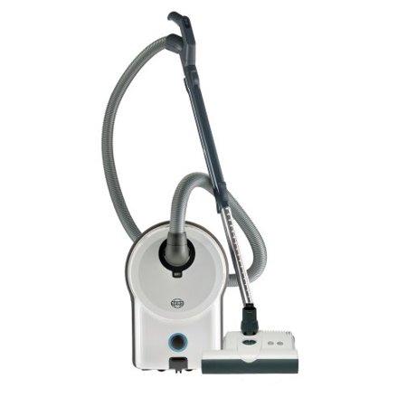 SEBO 90641AM Airbelt D4 Premium Canister Vacuum with ET-1 Powerhead, White ()