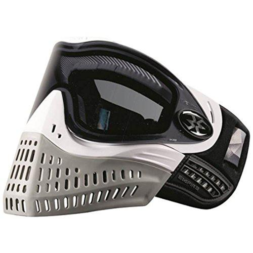 Empire E-Flex Paintball Goggle Mask White Grey by