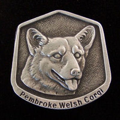 Pembroke Welsh Corgi Fine Pewter Dog Breed Ornament The sculpted image of your pet is surrounded with a wreath of holly and ivy. You will treasure this ornament for years to come. hey are made of Fine Pewter and come in a Christmas gift box for storing. Lindsay Claire is a Canadian manufacturer of Fine Pewter Gifts and Collectibles.  Each pewter item is cast in our shop from fine pewter and meticulously hand polished to a satin finish.Ornament is approximately 3  and has a satin cord attached for hanging.