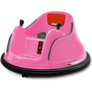 Kidzone DIY Number 6V Kids Toy Electric Ride On Bumper Car Vehicle Remote Control 360 Spin ASTM-certified 1.5-6 Years