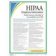 COMPLYRIGHT AR0953 Employee Information Poster,17 in. H