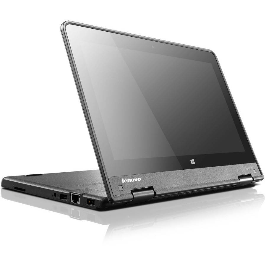 "Lenovo Graphite Black 11.6"" Thinkpad Yoga 11e Touchscreen 2-in-1 Convertible Laptop PC with Intel Core M 5Y10c Dual-Core Processor, 4GB Memory, 500GB Hard Drive and Windows 10 Pro"