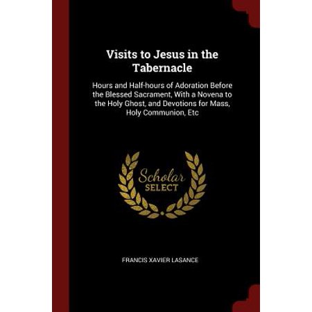 Visits to Jesus in the Tabernacle : Hours and Half-Hours of Adoration Before the Blessed Sacrament, with a Novena to the Holy Ghost, and Devotions for Mass, Holy Communion, (Devotion To The Holy Face Of Jesus)