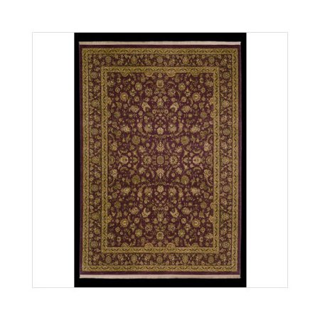 Shaw rugs antiquities kashan brick oriental rug - Shaw rugs discontinued ...