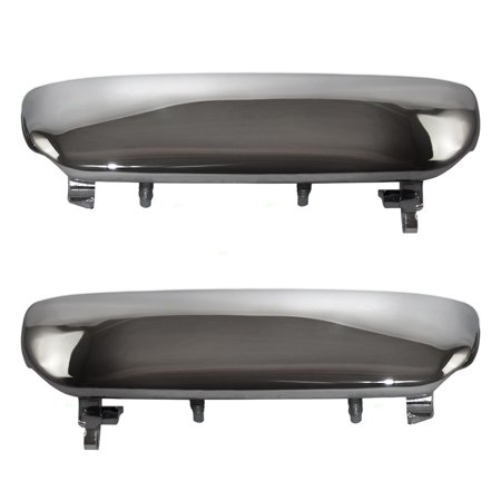 - Pair Set of Outside Exterior Outer Chrome Specialty Door Handles Replacement for 94-98 Ford Mustang