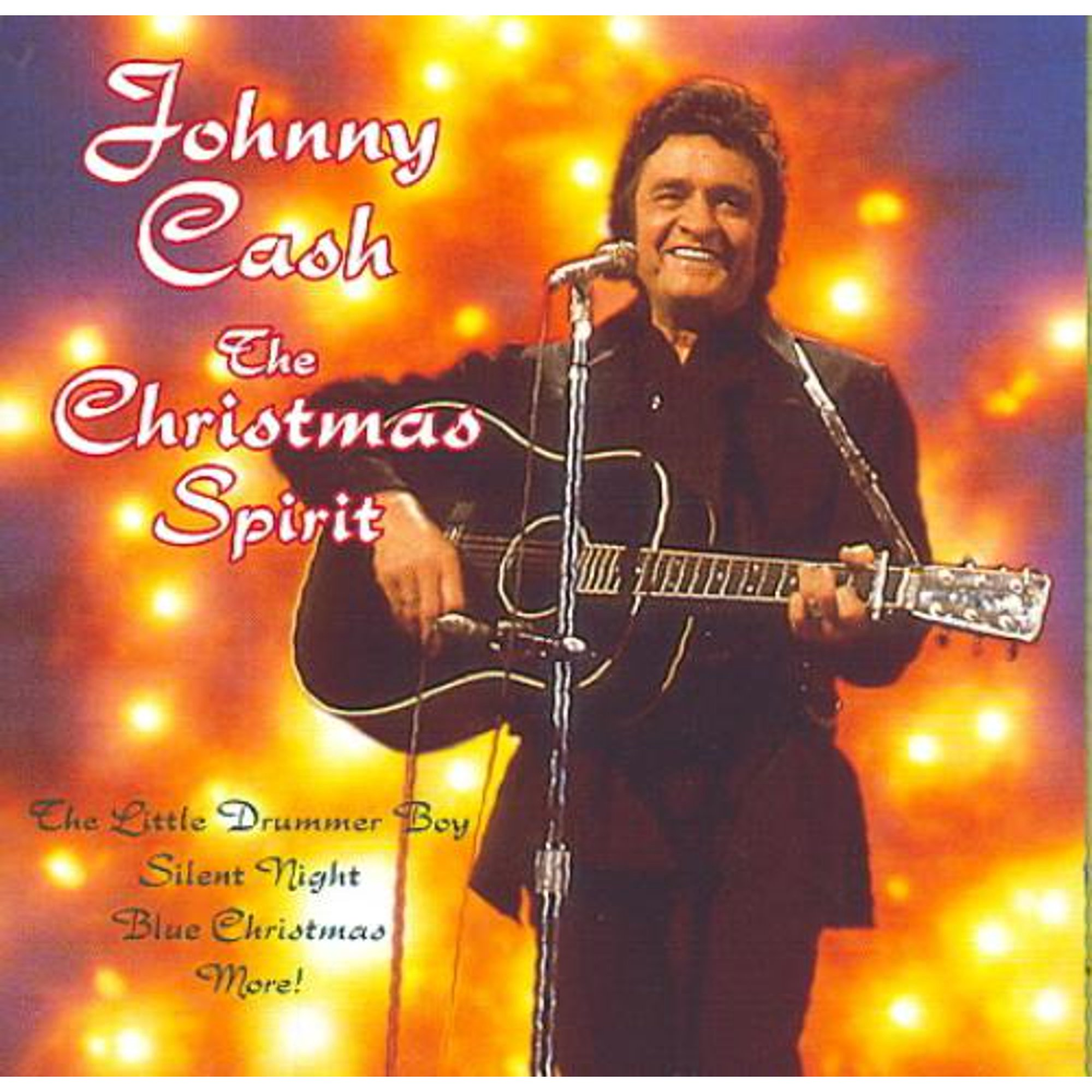 Johnny Cash I Heard The Bells On Christmas Day.Johnny Cash The Christmas Spirit Sony Special Products Cd