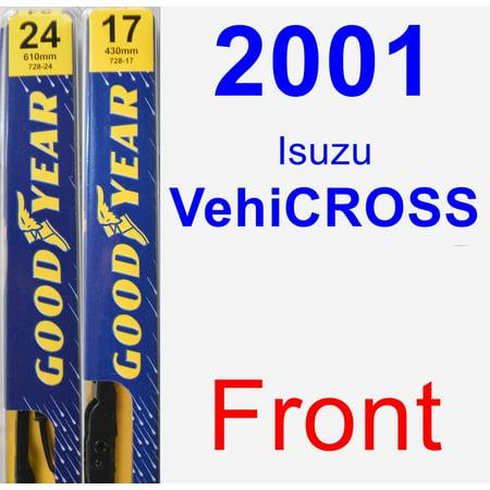 2001 Isuzu VehiCROSS Wiper Blade Set/Kit (Front) (2 Blades) - Premium